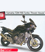 yamaha tdm turbo